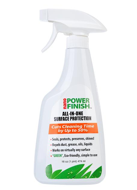 Nano Power Finish� Advanced Surface Protection. Green. Clean